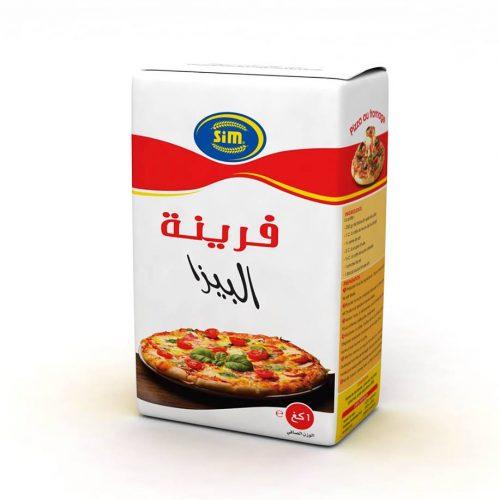 Image Farine pizza